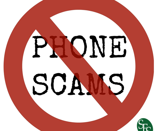 New Twist on an Old Scam, IRS Warns of Crooks Directing Taxpayers to IRS website to verify calls, SFS Tax, no symbol