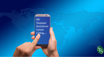 New Twist on an Old Scam, IRS Warns of Crooks Directing Taxpayers to IRS website to verify calls, SFS Tax, smartphone, world map, hands