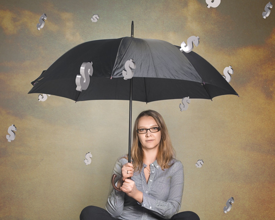 Tax Avoidance vs Tax Evasion Which One is Legal The IRS Said So, SFS Tax and Accounting, Raining Money, Umbrella, Woman with Umbrella