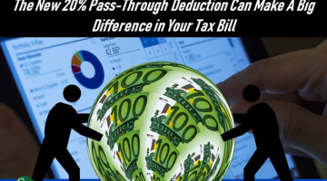 Are You a Favored Business, The New 20% Pass Through Deduction can Make a Big Difference in Your Tax Bill, SFS Tax, SFS Tax and Accounting, Ball of Money, Silhouette, Loking for Tax Favored Status