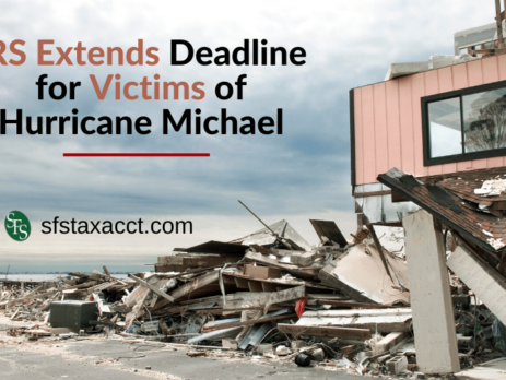 House damaged through Hurricane Michael