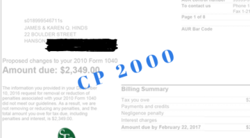 IRS CP20000 SFS