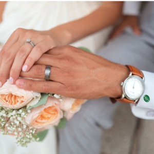 Marriage Penalty Tax -Couple just married with rings on