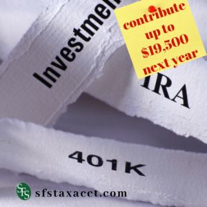 investent-401K-sfs tax accounting