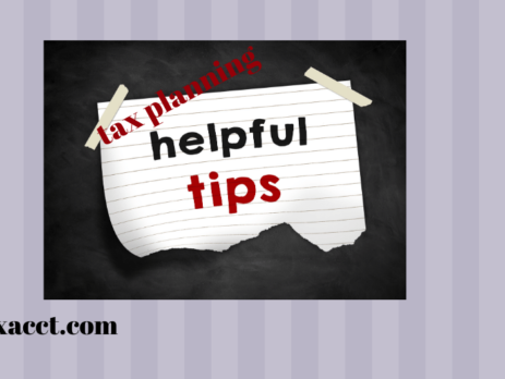 helpful tax planning tips