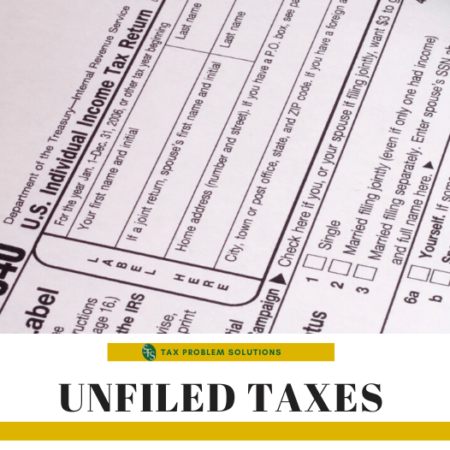 unfiled taxes-1040 form-pen-sfs tax & accounting services
