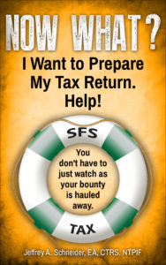 Now What? I Want ti Prepare My Tax Return. Help! - image of cover