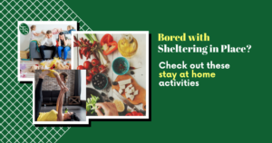 Shelter in Place Activities- cooking- exercise-kids