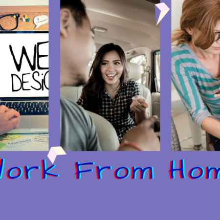 Web designer-driver-mom helping child-Working From Home Tips
