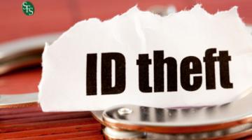IMage -handcuffs, paper sayin ID Theft