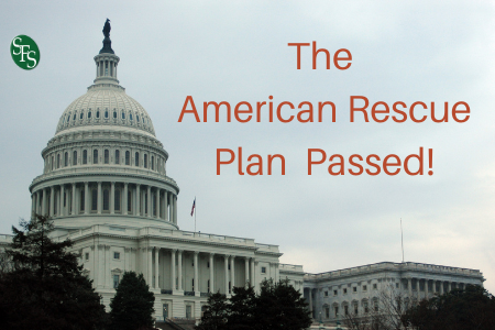 The American Rescue Plan Passed!- image of Capital Building